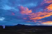 Grenevik(草屋)- Godafoss(上帝瀑布)-Mývatn (米湖) :地熱和火燒雲