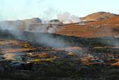 Grenevik(草屋)- Godafoss(上帝瀑布)-Mývatn (米湖) :到處地熱