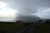 冰島北部: Reykjavik-Hvammstangi-Akureyri:9/2, 從雷克雅未克出發,開車直奔冰島北部的海豹城Hvammstangi