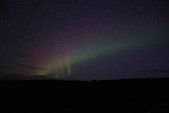 Grenevik(草屋)- Godafoss(上帝瀑布)-Mývatn (米湖) :第一夜的米湖極光