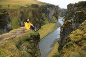 Vik-Skaftafell National Park-Jokulsarlon-Reykjavik:我在lakagigar峽谷