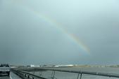 冰島北部: Reykjavik-Hvammstangi-Akureyri:第一道彩虹出現在橋上