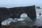 Gullfoss(黃金瀑布)+Skogafoss(史科卡瀑布)+Dyrholaey的海上洞門+黑沙灘:海上洞門,奇特的自然景觀!