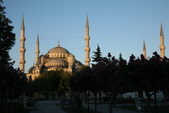 Istanbul ( Turkey )      藍色清真寺、蘇菲亞、耶尼清真寺...:(8/18)清晨的聖蘇菲亞大教堂(Aya Sofya)