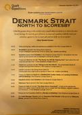 格陵蘭(1):Day 3 (9/11) 因為天候影響,昨夜11點從雷克雅未克開航,今天從丹麥海峽一路往北...