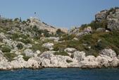 Antalya ( 老城區 + Myra一日遊 ):搭渡輪出海到凱科夫島(Kekova,也就是Üçağız)