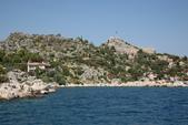 Antalya ( 老城區 + Myra一日遊 ):凱科夫島的島上岸邊就是拜占庭時期的遺跡