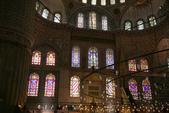 Istanbul ( Turkey )      藍色清真寺、蘇菲亞、耶尼清真寺...:藍色清真寺的彩繪玻璃窗