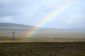 冰島北部: Reykjavik-Hvammstangi-Akureyri:第二道彩虹