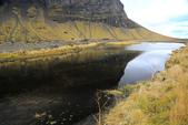Vik-Skaftafell National Park-Jokulsarlon-Reykjavik:路邊暫停拍倒影
