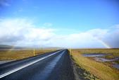 冰島北部: Reykjavik-Hvammstangi-Akureyri:第二道彩虹半圓跨過1號公路