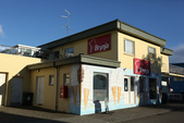 冰島北部: Reykjavik-Hvammstangi-Akureyri:下午5:00趕到阿庫瑞里 Akureyri , 這家 Brynja 的冰淇淋特出名!