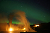 Grenevik(草屋)- Godafoss(上帝瀑布)-Mývatn (米湖) :地熱和極光
