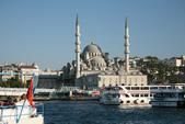 Istanbul ( Turkey )      藍色清真寺、蘇菲亞、耶尼清真寺...:金角灣岸邊最明顯的耶尼清真寺