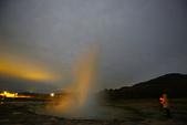 冰島南部: Keridd火山口湖+Strokkur間歇泉:深夜12:00,開車5分鐘到1公里外的間歇泉瘋狂遊...   沒有極光!