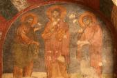 Antalya ( 老城區 + Myra一日遊 ):教堂內的濕壁畫