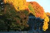 Oslo, Norway:維格蘭雕刻公園(Vigelandsparken)就在福格納公園裡,分為橋、噴泉、人生柱三個部分。