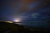 Tromsø ,  Norway:極光微微...  就拍拍峽灣的浪囉!