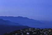 """合歡山(08/23~24/'14):從""""觀星園""""民宿俯瞰清境"""