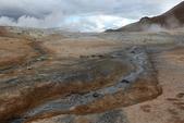 Grenevik(草屋)- Godafoss(上帝瀑布)-Mývatn (米湖) :先到很著名的泥漿地熱區Hverir