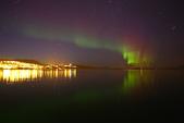 Lofoten Islands, Norway:晚上先在旅館前面試拍一陣子