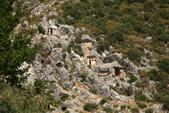 Antalya ( 老城區 + Myra一日遊 ):看那岩石上開鑿出來蜂巢狀的利西亞人的岩窟墓地遺址
