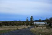 Gullfoss(黃金瀑布)+Skogafoss(史科卡瀑布)+Dyrholaey的海上洞門+黑沙灘:9/23,清晨Haukadalur的Geysir Green Guesthouse外面