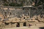 Antalya ( 老城區 + Myra一日遊 ):旁邊是一個保存不錯的羅馬劇場