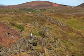 冰島南部: Keridd火山口湖+Strokkur間歇泉:一開始往下走的小路可不太好走的!
