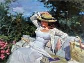 俄羅斯油畫家弗拉基米爾·沃列戈夫的女性作品:俄羅斯美女19.jpg