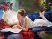 俄羅斯油畫家弗拉基米爾·沃列戈夫的女性作品:俄羅斯美女08.jpg