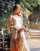 俄羅斯油畫家弗拉基米爾·沃列戈夫的女性作品:俄羅斯美女16.jpg