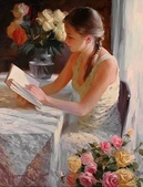 俄羅斯油畫家弗拉基米爾·沃列戈夫的女性作品:俄羅斯美女15.jpg
