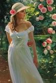 俄羅斯油畫家弗拉基米爾·沃列戈夫的女性作品:俄羅斯美女11.jpg