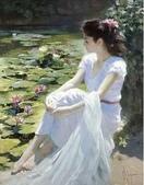 俄羅斯油畫家弗拉基米爾·沃列戈夫的女性作品:俄羅斯美女07.jpg