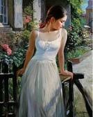 俄羅斯油畫家弗拉基米爾·沃列戈夫的女性作品:俄羅斯美女14.jpg