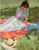 俄羅斯油畫家弗拉基米爾·沃列戈夫的女性作品:俄羅斯美女18.jpg