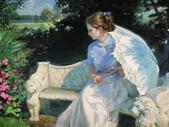 俄羅斯油畫家弗拉基米爾·沃列戈夫的女性作品:俄羅斯美女01.jpg