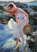 俄羅斯油畫家弗拉基米爾·沃列戈夫的女性作品:俄羅斯美女10.jpg