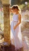 俄羅斯油畫家弗拉基米爾·沃列戈夫的女性作品:俄羅斯美女02.jpg