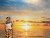 太平洋溫泉會館家人度假泡湯+撞球:IMG_6585翡翠灣日出.JPG