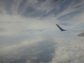 103台北松山機場:華信航空飛行空中