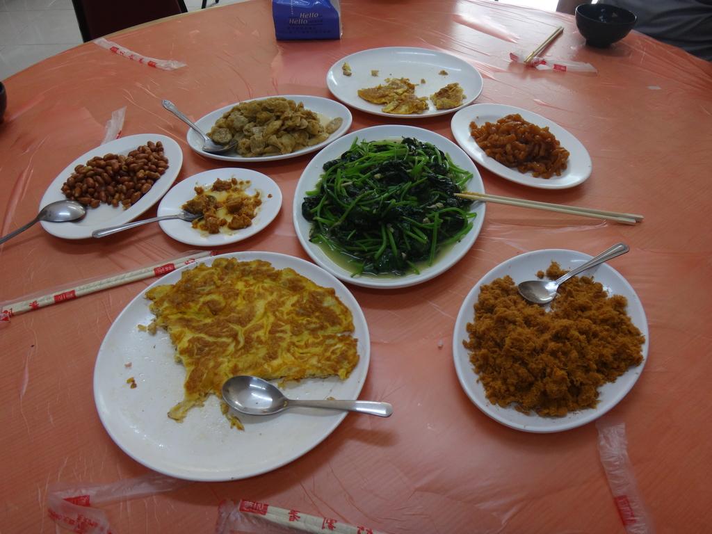 雙溪八景之蘭溪消夏與老農夫生態休閒農莊:DSC04474早餐配菜.JPG