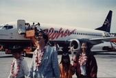 77年~105年家人活動團照:夏威夷Aloha班機