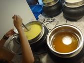 太平洋溫泉會館的自助早餐:DSC08891玉米濃湯與味噌湯.JPG