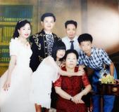 77年~105年家人活動團照:860830水晶婚全家福.JPG