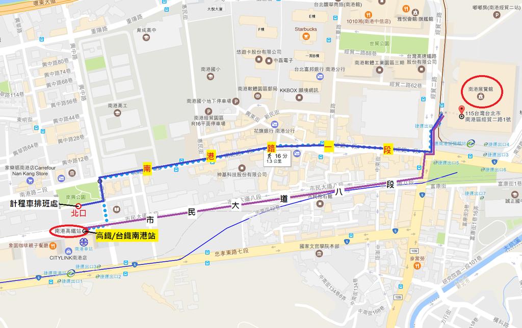 南港展覽館.png - 《MAP》南港展覽館