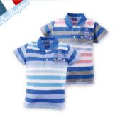 2013  夏 出 清,出清:三寶貝-粉藍灰條紋衫