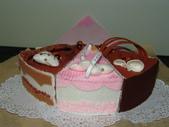 件裝不織布蛋糕:2