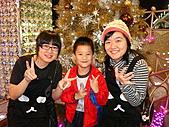 聖誕看燈飾 2007-12-20:小朋友